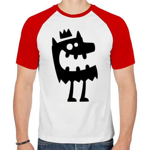 Мужская футболка реглан  Фото 01, Король детских страшилок