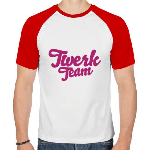 Мужская футболка реглан  Фото 01, Twerk team