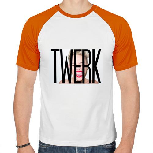Мужская футболка реглан  Фото 01, Twerk