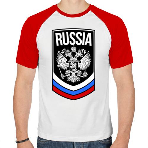 Мужская футболка реглан  Фото 01, Russia