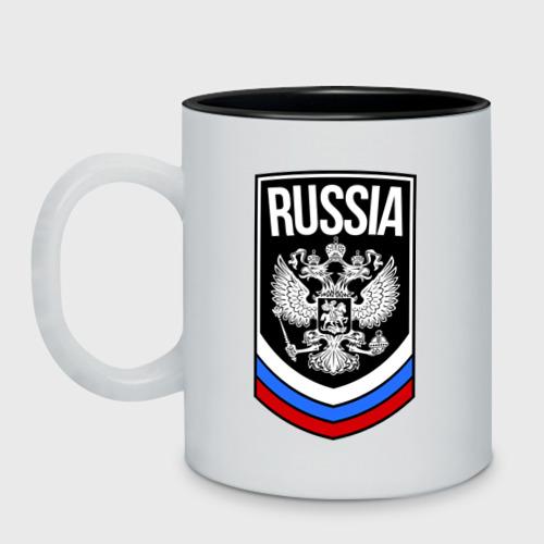 Кружка двухцветная Russia Фото 01