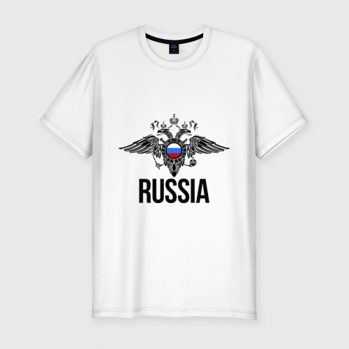 Мужская футболка премиум  Фото 01, Russia