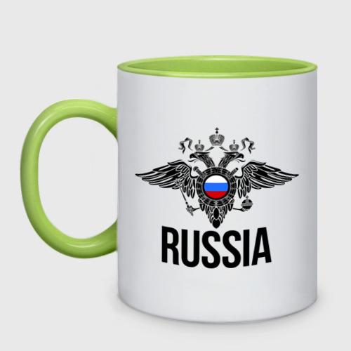 Кружка двухцветная  Фото 01, Russia