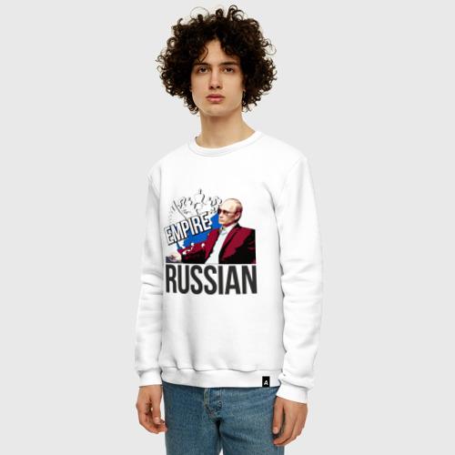Мужской свитшот хлопок Русская империя Фото 01
