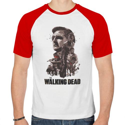 Мужская футболка реглан  Фото 01, Ходячие Мертвецы