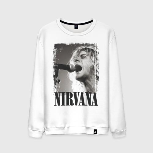 Мужской свитшот хлопок  Фото 01, Nirvana