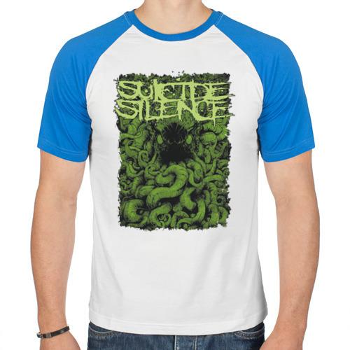 Мужская футболка реглан  Фото 01, Suicide Silence