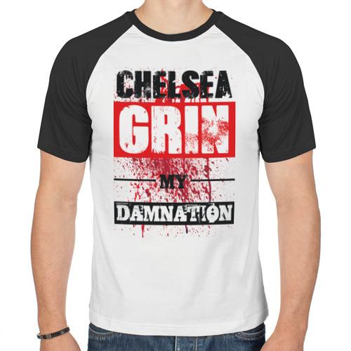 Мужская футболка реглан  Фото 01, Chelsea Grin