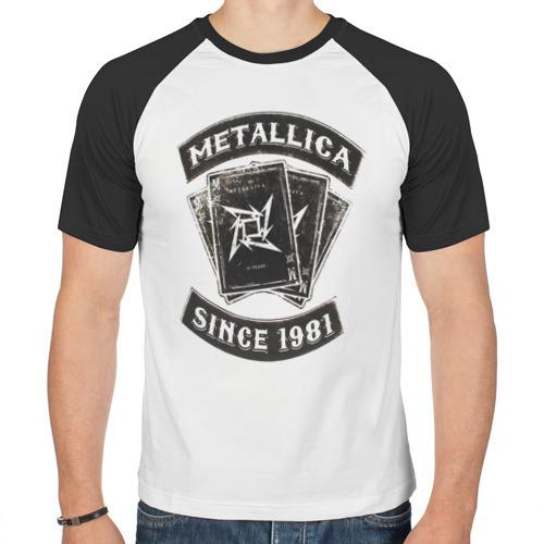 Мужская футболка реглан  Фото 01, Metallica
