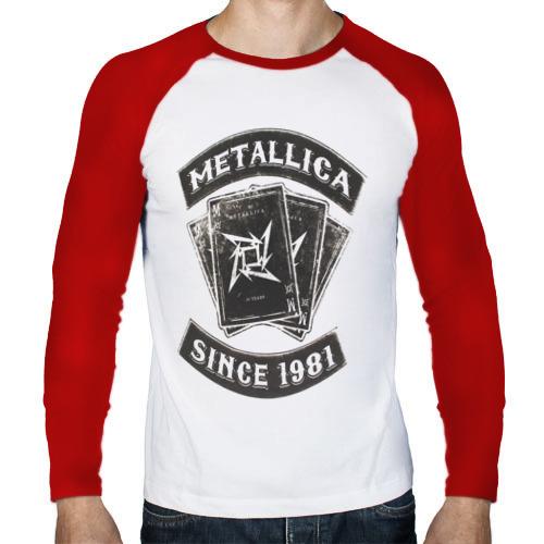 Мужской лонгслив реглан  Фото 01, Metallica