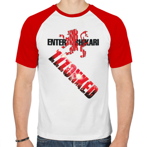 Мужская футболка реглан  Фото 01, Enter Shikari