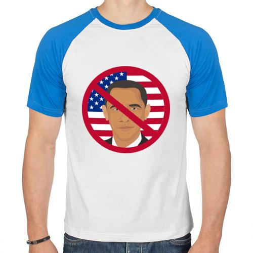 Мужская футболка реглан  Фото 01, Антиобама