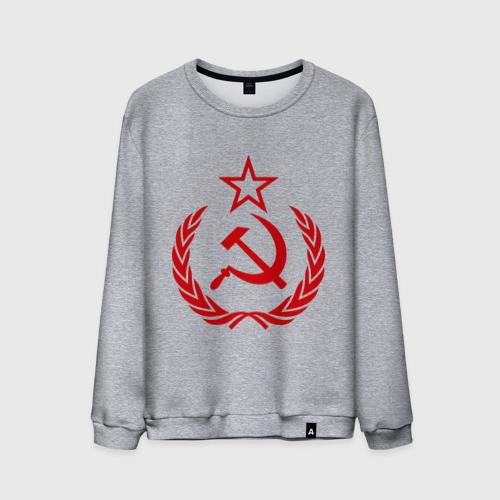 Мужской свитшот хлопок  Фото 01, СССР герб