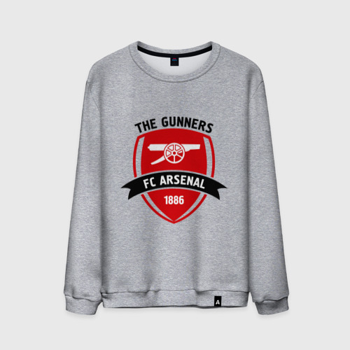 Мужской свитшот хлопок  Фото 01, FC Arsenal - The Gunners