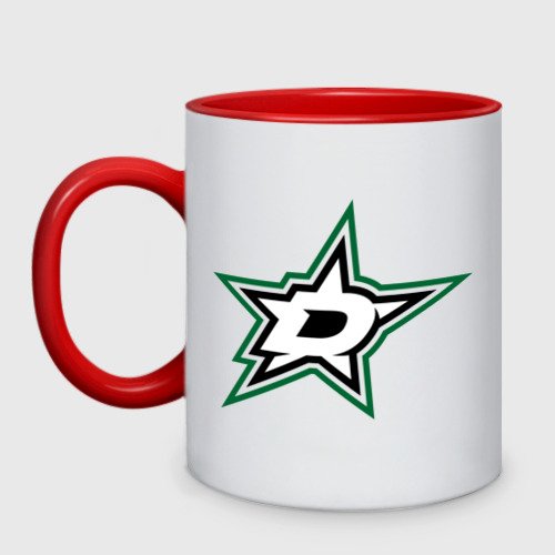 Кружка двухцветная HC Dallas Stars