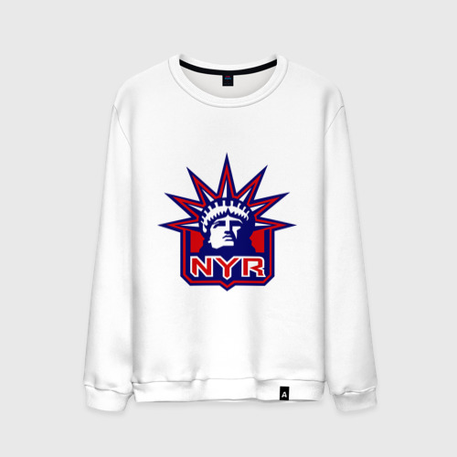 Мужской свитшот хлопок  Фото 01, HC New York Rangers Emblem