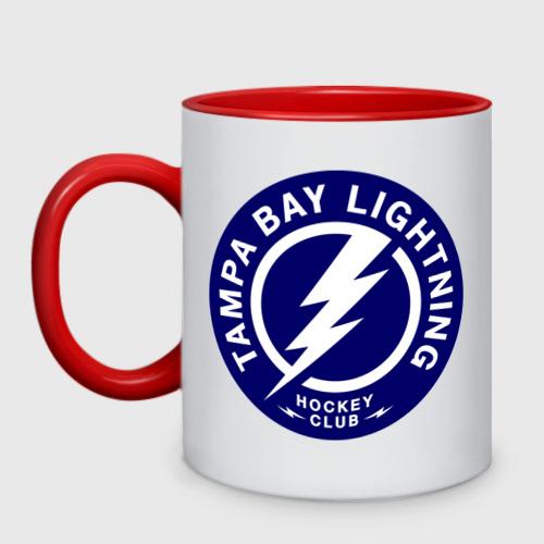Кружка двухцветная HC Tampa Bay Lightning