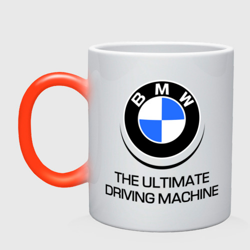 Кружка хамелеон BMW Driving Machine