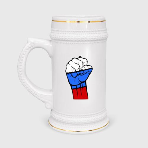 Кружка пивная  Фото 01, Русский дух
