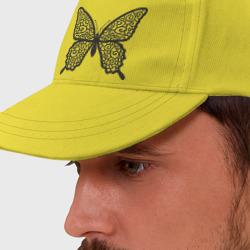 Бабочка с кружевными крыльями