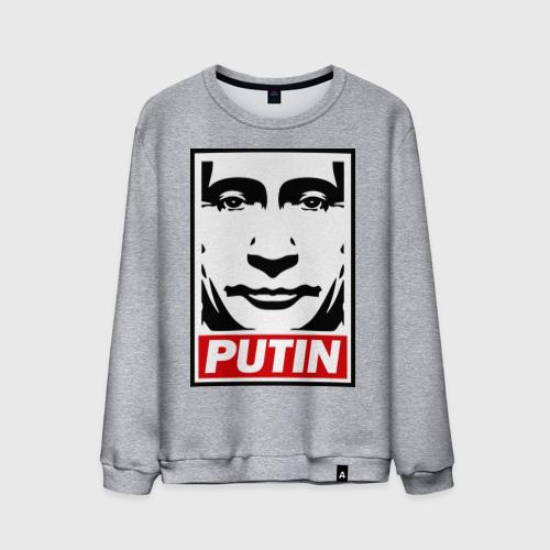 Мужской свитшот хлопок  Фото 01, Putin (Путин)