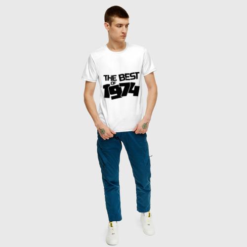 Мужская футболка хлопок The best of 1974 Фото 01