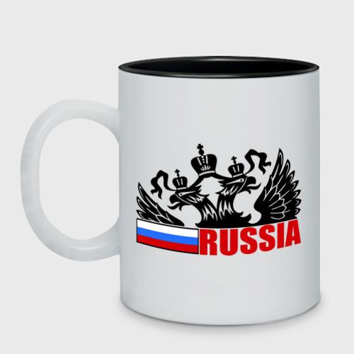 Кружка двухцветная Россия Фото 01