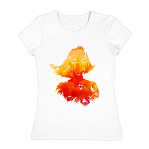 Женская футболка хлопок  Фото 01, Slayer Lina