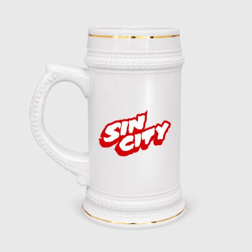 Кружка пивная Sin City