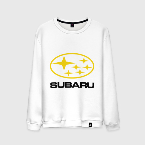 Мужской свитшот хлопок  Фото 01, Subaru Logo