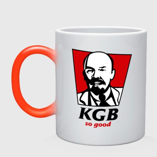 Кружка хамелеон  Фото 01, KGB - So Good