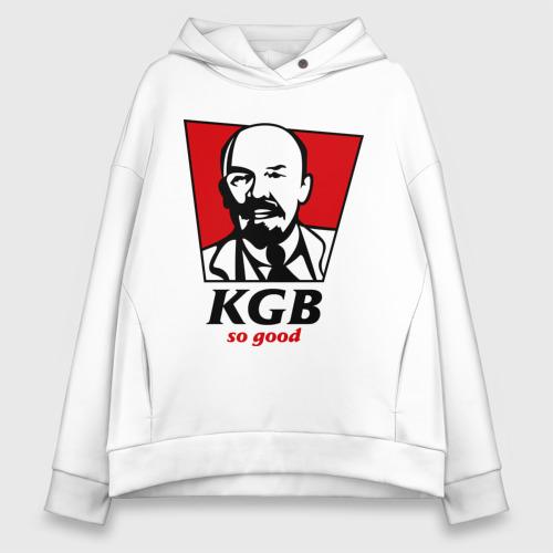 Женское худи Oversize хлопок KGB - So Good Фото 01