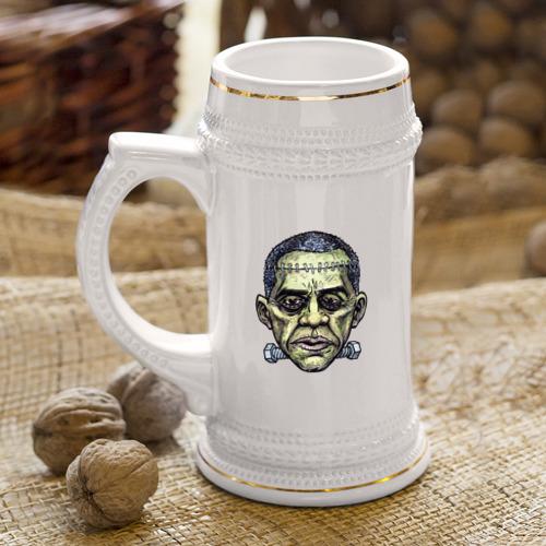 Кружка пивная  Фото 04, Зомби Обама