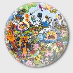 Мир Adventure Time