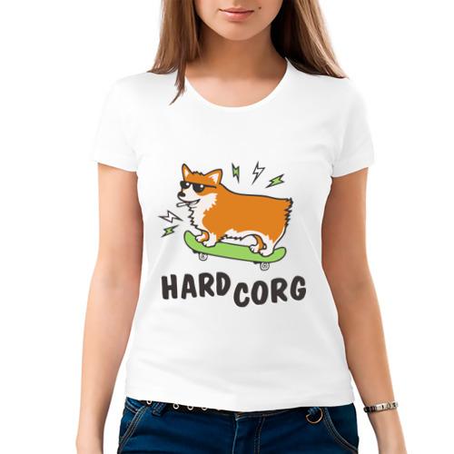 Женская футболка хлопок  Фото 03, Hardcorg