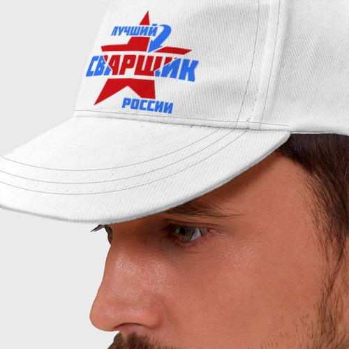Бейсболка Лучший сварщик России