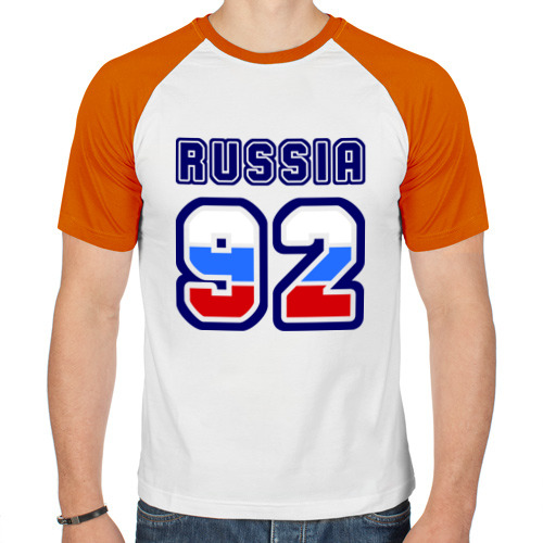 Мужская футболка реглан  Фото 01, Russia - 92 (Севастополь)