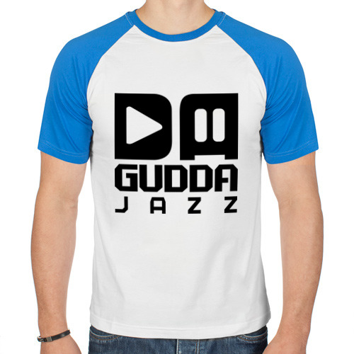 Мужская футболка реглан  Фото 01, Da gudda