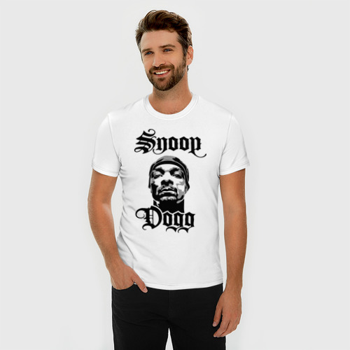 Мужская футболка премиум  Фото 03, Snoop Dogg