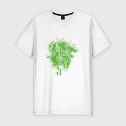 Razer logo green