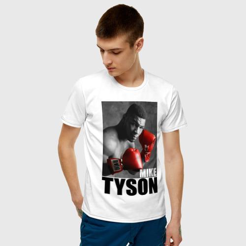 Мужская футболка хлопок Mike Tyson Фото 01