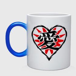 Кандзи иероглиф Любовь