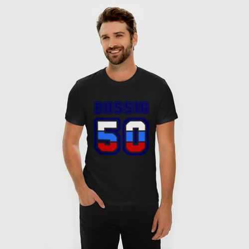 Мужская футболка премиум  Фото 03, Russia - 50 (Московская область)