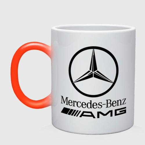 Кружка хамелеон AMG