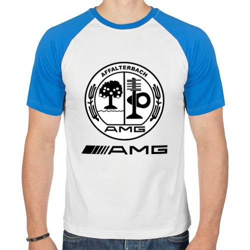 Мужская футболка реглан  Фото 01, AMG