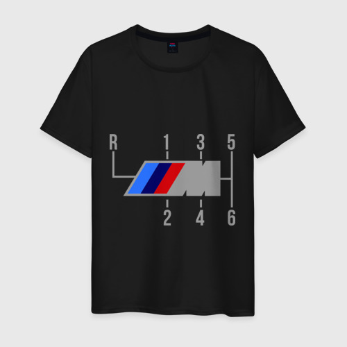 Мужская футболка хлопок BMW Фото 01