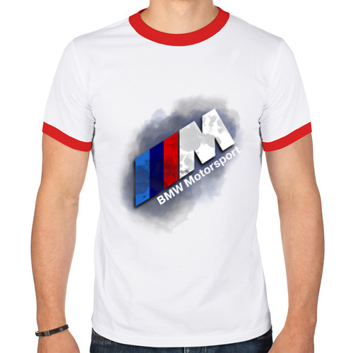 Мужская футболка рингер  Фото 01, BMW