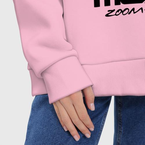 Женское худи Oversize хлопок Mazda Zoom-Zoom Фото 01