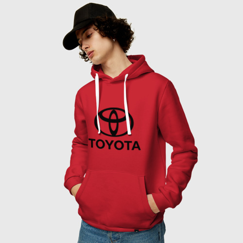 """Толстовка их хлопка """"Toyota Logo"""" фото 1"""
