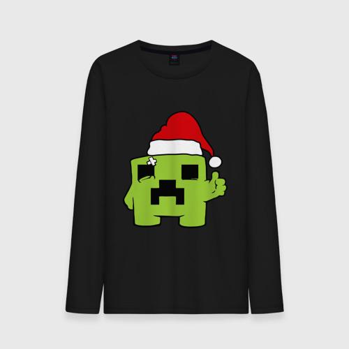 Мужская футболка с длинным рукавом Minecraft от Всемайки